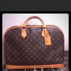 Authentic LV Alma overnight XL bag